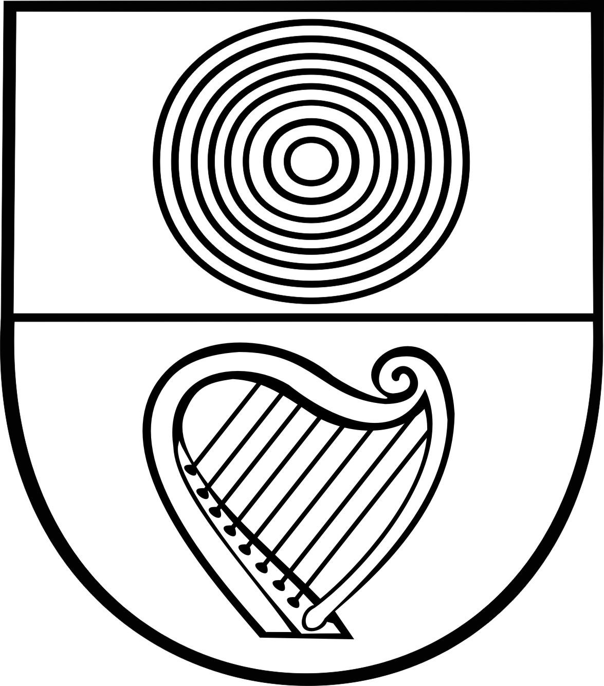 Wappen s/w